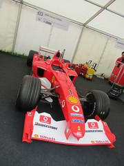 Ferrari F2003 3.0-litre V10 2003, Michael Schumacher at 50, Speed Kings, Motorsport's Record Breakers, Goodwood Festival of Speed (2)
