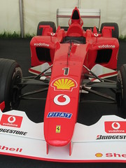 Ferrari F2002 3.0-litre V10 2002, Michael Schumacher at 50, Speed Kings, Motorsport's Record Breakers, Goodwood Festival of Speed (1)