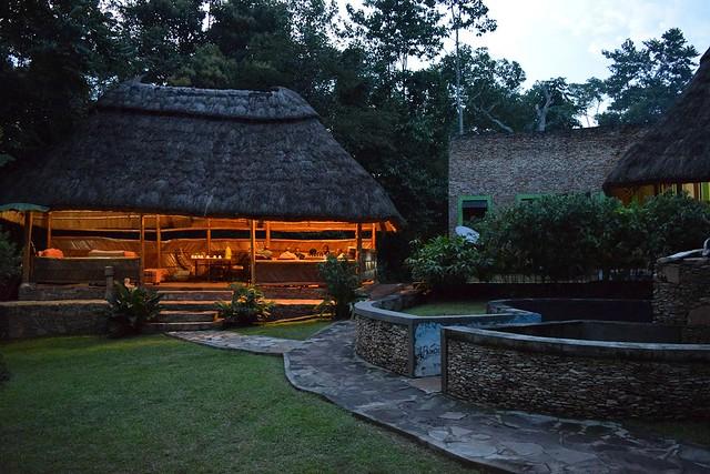 Primate lodge in Kibale in Uganda