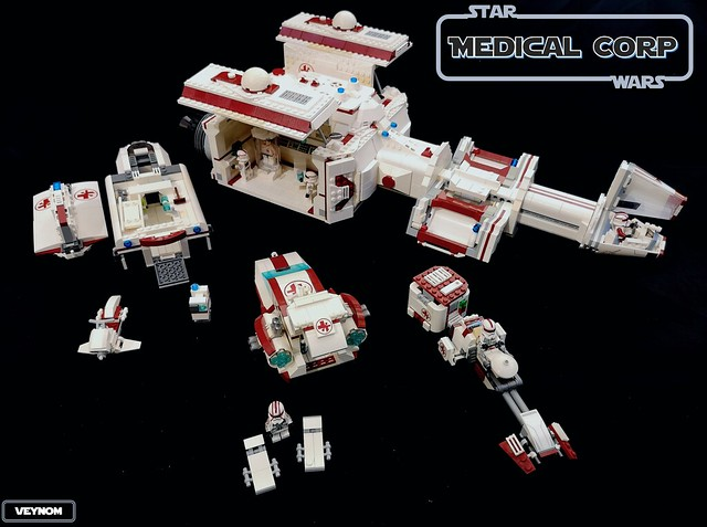 Star Wars Medical Corp - Play features