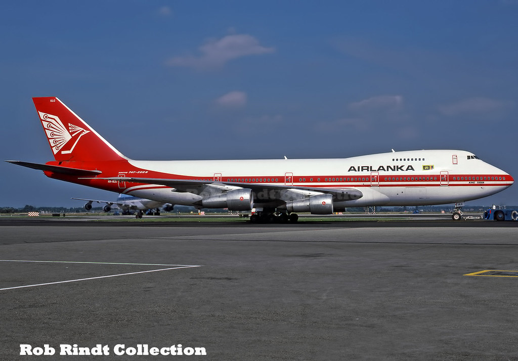 Air Lanka B747-238B 4R-ULG