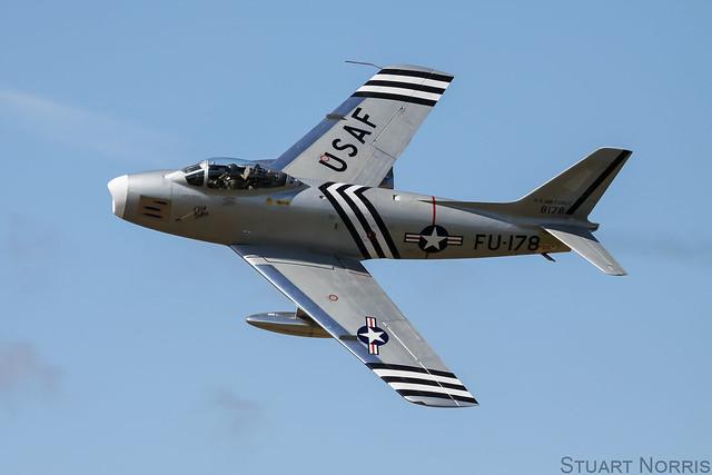 F-86A Sabre 48-178 G-SABR - Golden Apple Operations Ltd