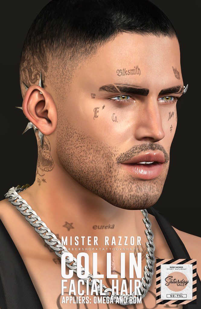 ((Mister Razzor)) Collin Facial Hair – SS