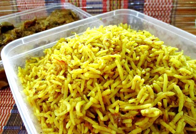 Payung chicken biryani rice