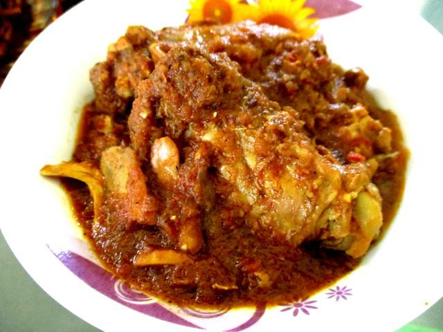 Chicken for the biryani rice