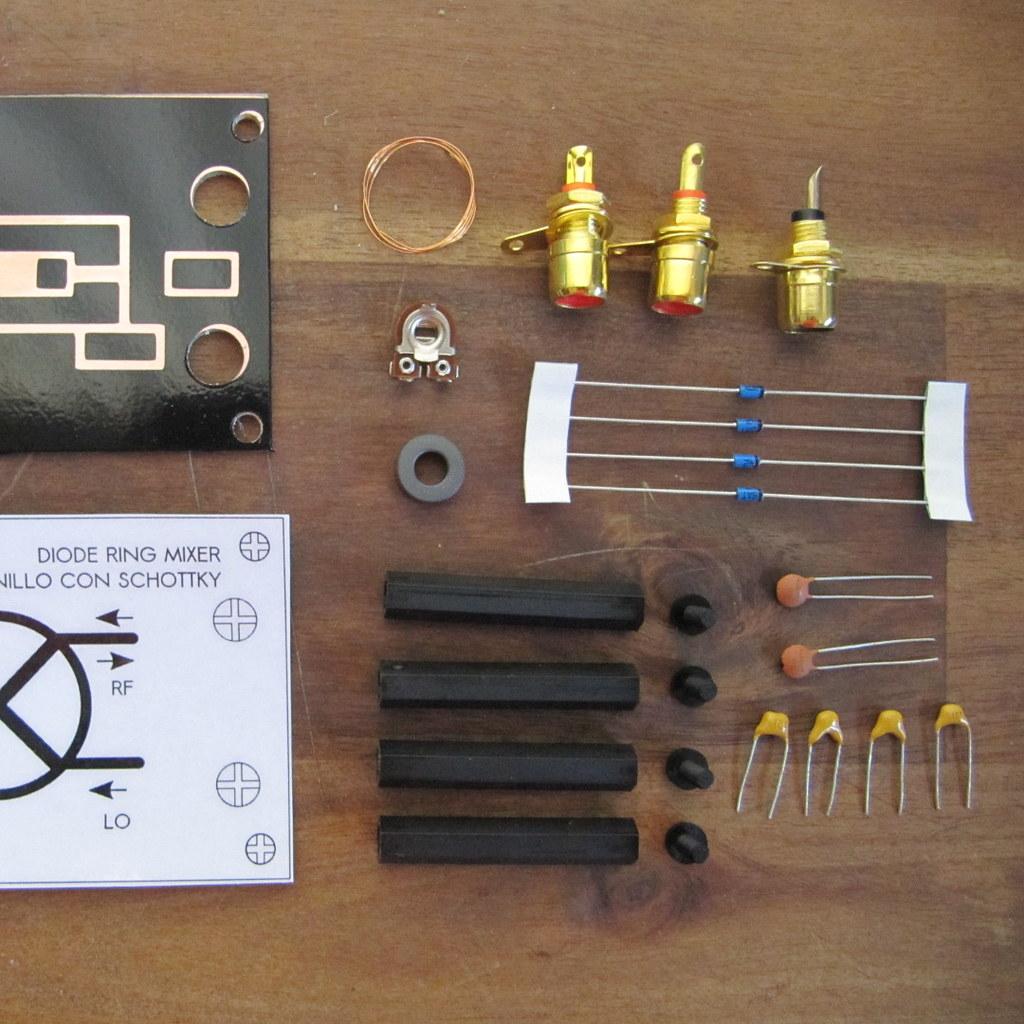 YooFab RFLEGO diode ring mixer kit