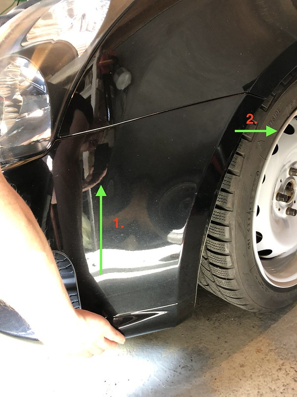 photo with bumper removal instructions