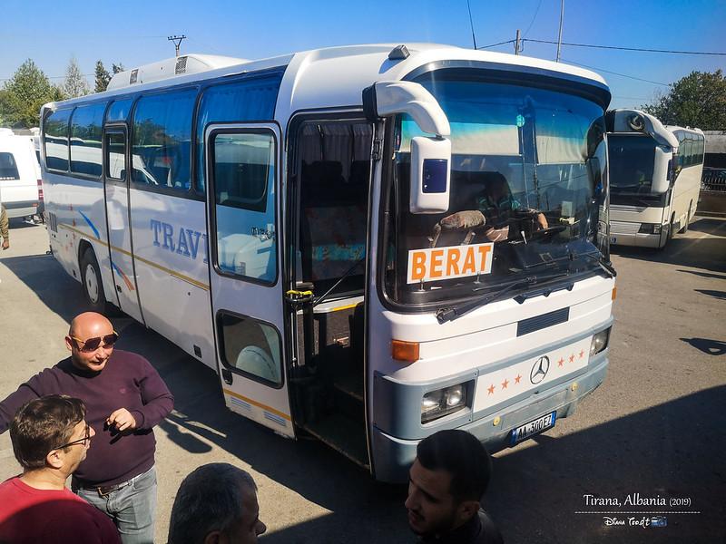 2019 Albania Tirana Southern Bus Station (Dogana)