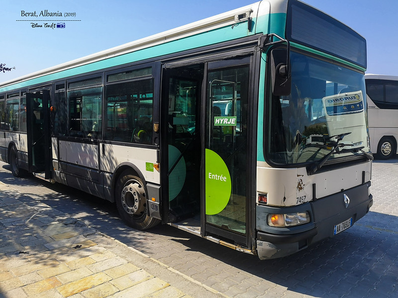2019 Albania Berat City Bus
