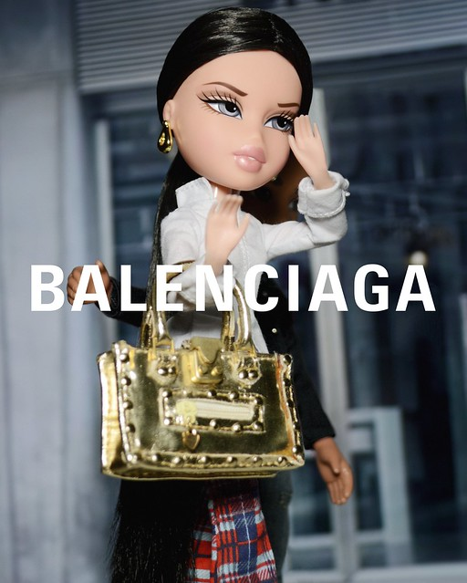 "DNTM cycle 1 theme 1 ""bag hags"" - Ceragh Stephens for Balenciaga"