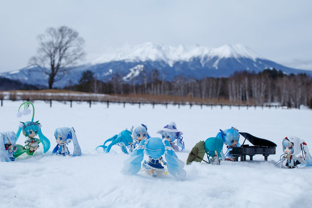 welcome to snowmiku world