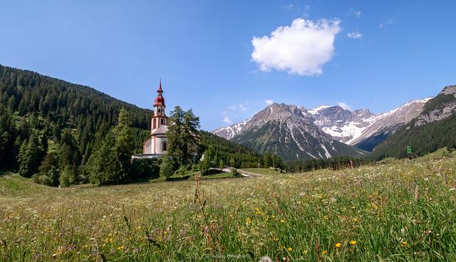 St. Nikolaus Kirche Obernberg am Brenner