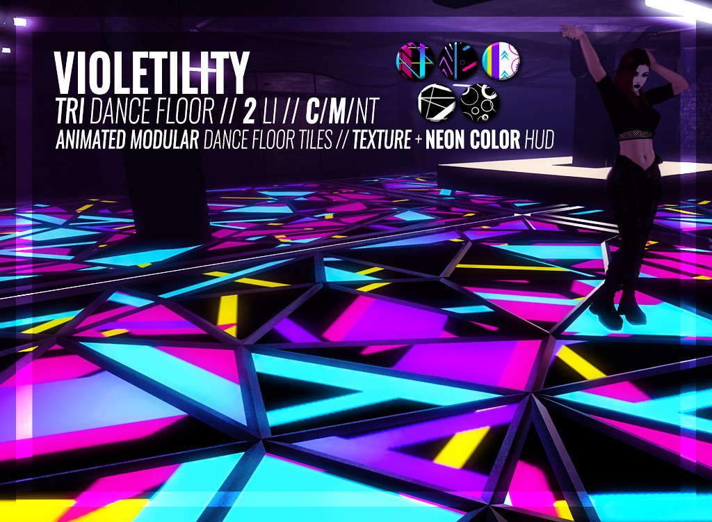 Violetility – Tri Dance Floor