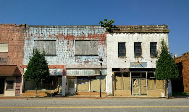 Blacksburg, SC - Abandoned Downtown Buildings