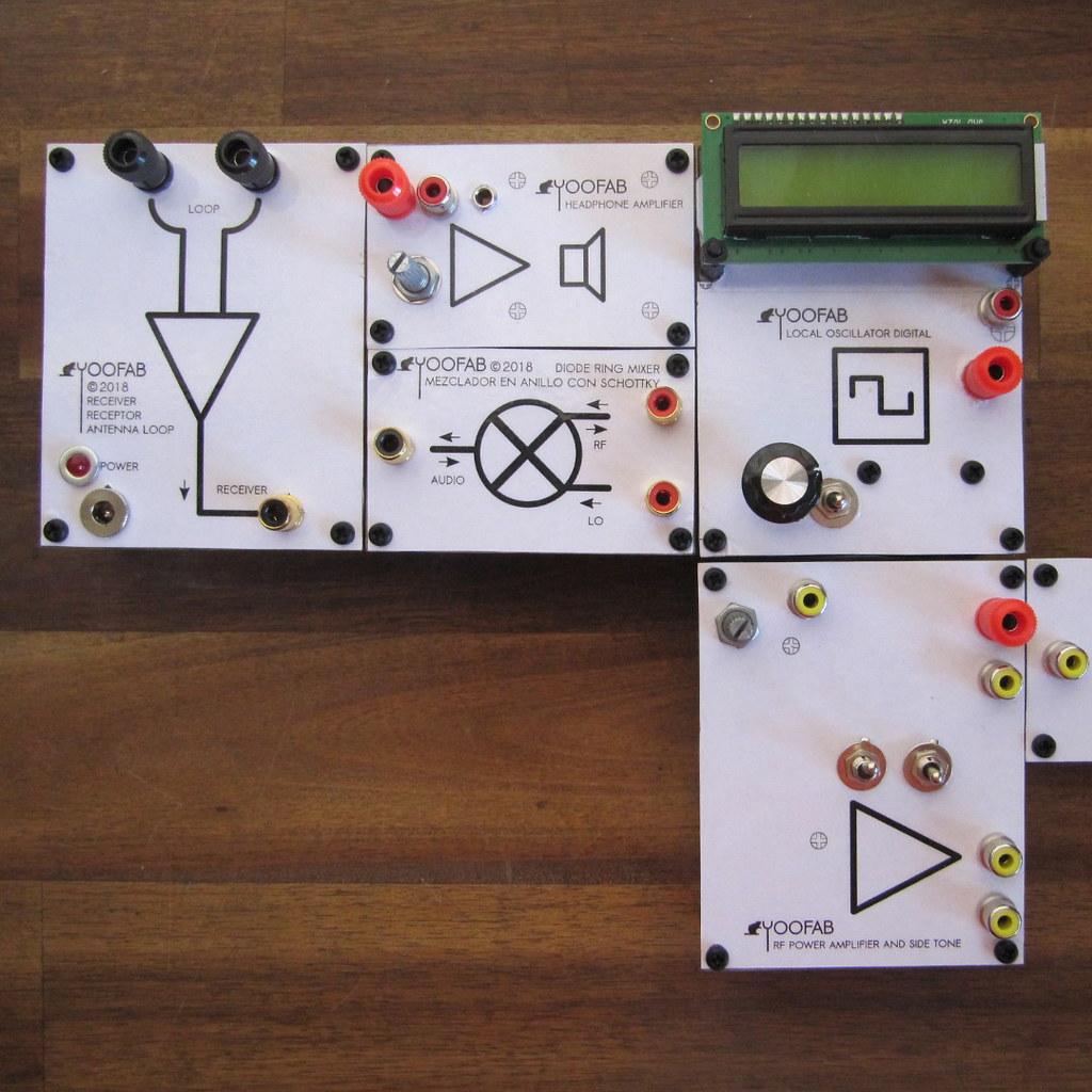 YooFab RFLEGO module system kits