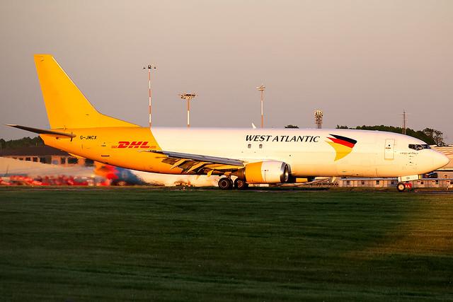 G-JMCX West Atlantic Cargo B737-400 East Midlands Airport
