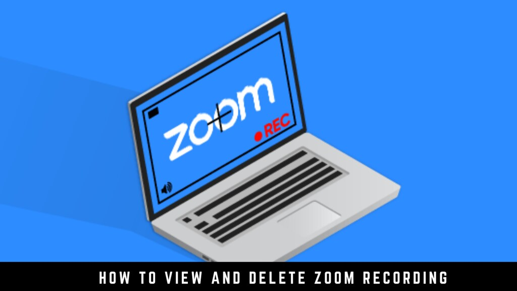How to View and Delete Zoom Recording