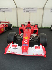 Ferrari F2002 3.0-litre V10 2002, Michael Schumacher at 50, Speed Kings, Motorsport's Record Breakers, Goodwood Festival of Speed (3)