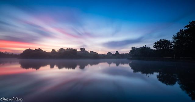 Crime Lake Sunrise 2