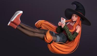 Nerd Witch par Antonion Mello