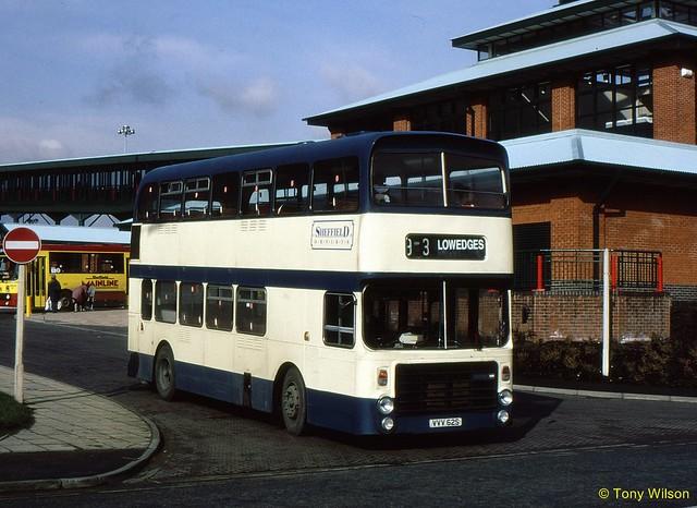 VVV62S Sheffield Omnibus 1562