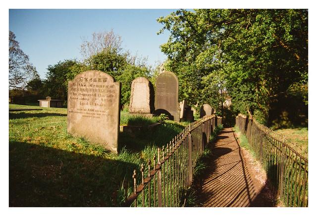 Graveyard path