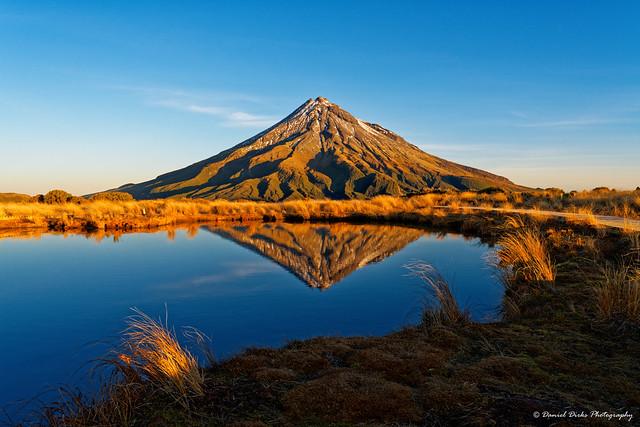 Mt Taranaki / Mt Egmont reflections