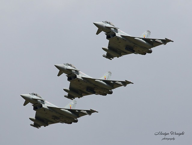 RAF 41 Sqn Typhoon FGR4'S