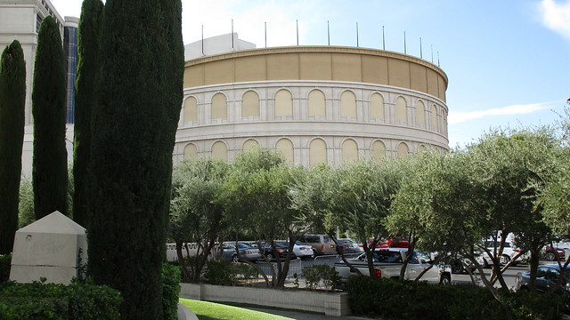 Nevada - Las Vegas: The Colosseum @ CAESARS PALACE - The theatre is the main entertainment venue of the Roman stiled gambling hotel - world famous and deemed as the
