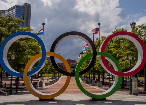downtown park urbanpark centennialpark olympics atlanta georgia sculpture