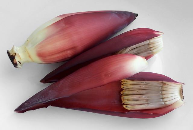 Bananenbloem pellen