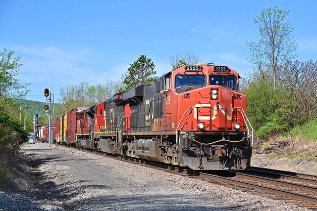 CN Power at Wadhams