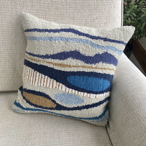 Punch needle cushions