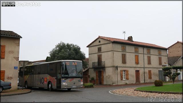 Mercedes-Benz Intouro – SPL D'un Point À l'Autre / liO (Lignes Intermodales d'Occitanie) n°122