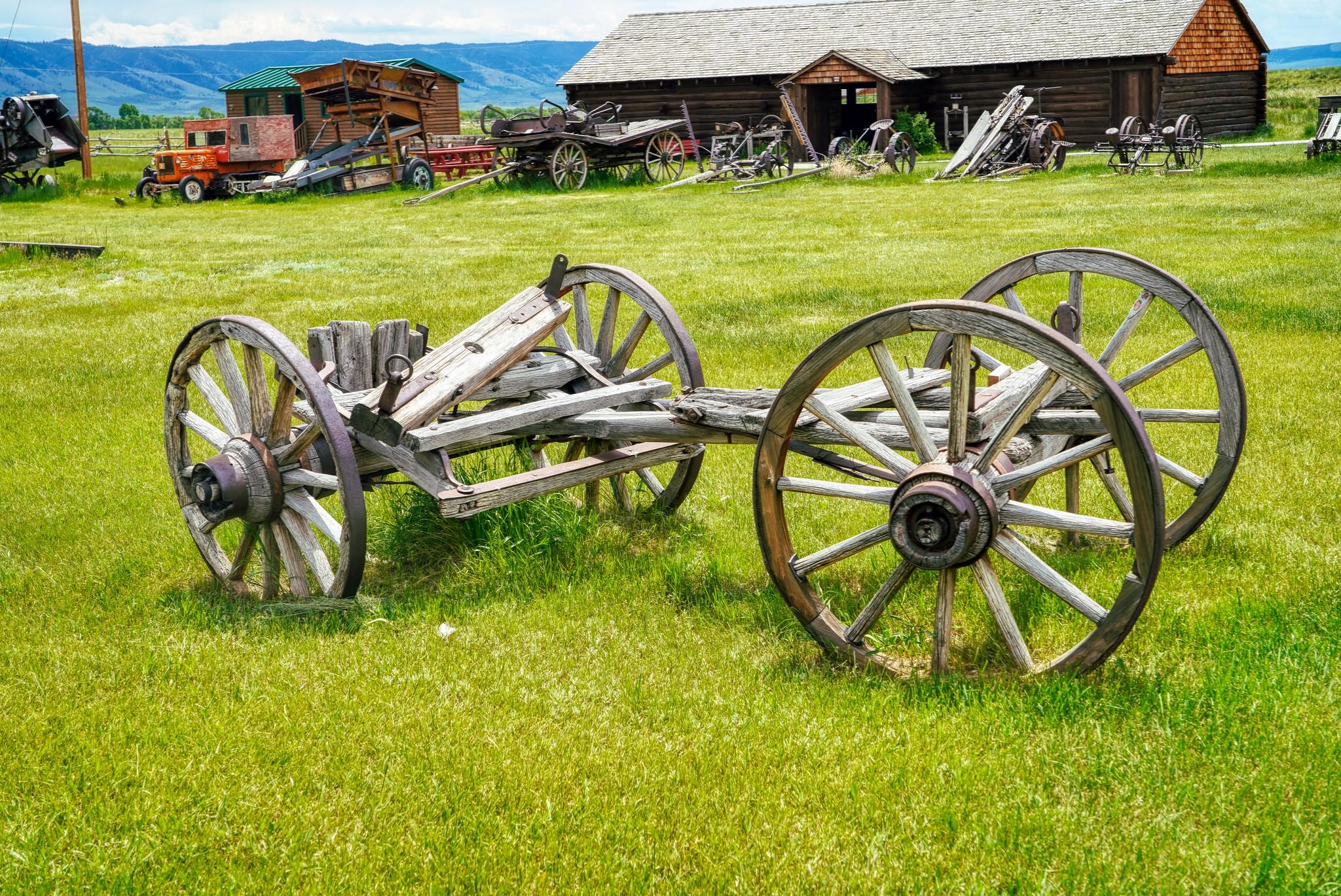 Disused Wagon