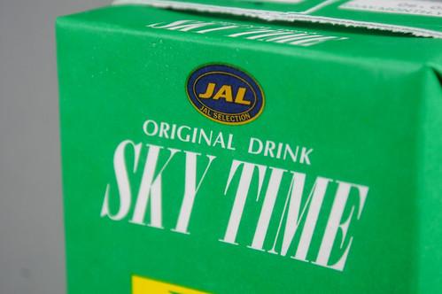 JAL SKY TIME KIWI
