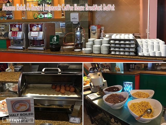 Awana Hotel Breakfast Buffet
