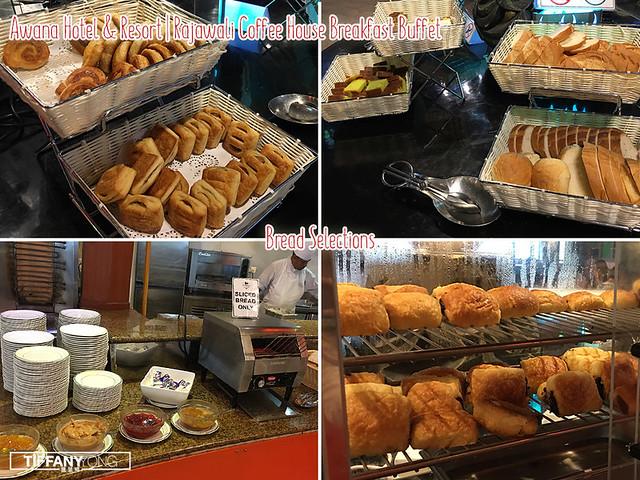 Awana Hotel and Resort Rajawali Breakfast Buffet Bread