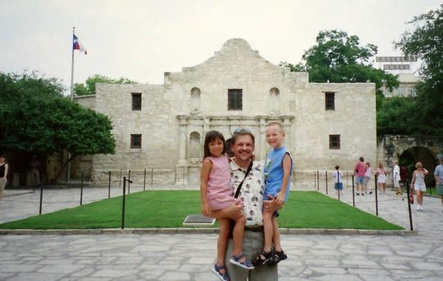 Three Texans at the Alamo