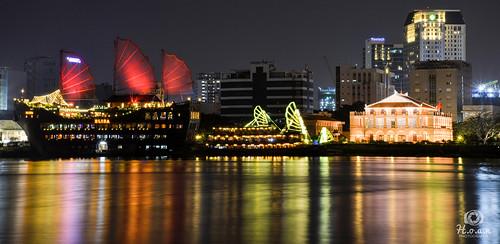 dragonwharf dragon wharf nikon d800 800 240850mmf3545 2485mm f3545 saigon vietnam river saigonriver color colorful landscape