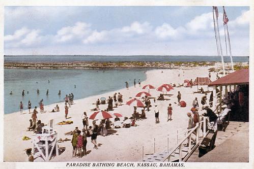 Paradise Bathing Beach, Bahamas