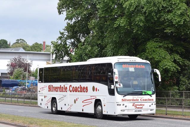 JCZ5656  (YN59BNA)  Silverdale Coaches, Airdrie