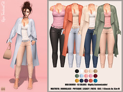 Hilly Haalan - Reece Trenchcoat Set