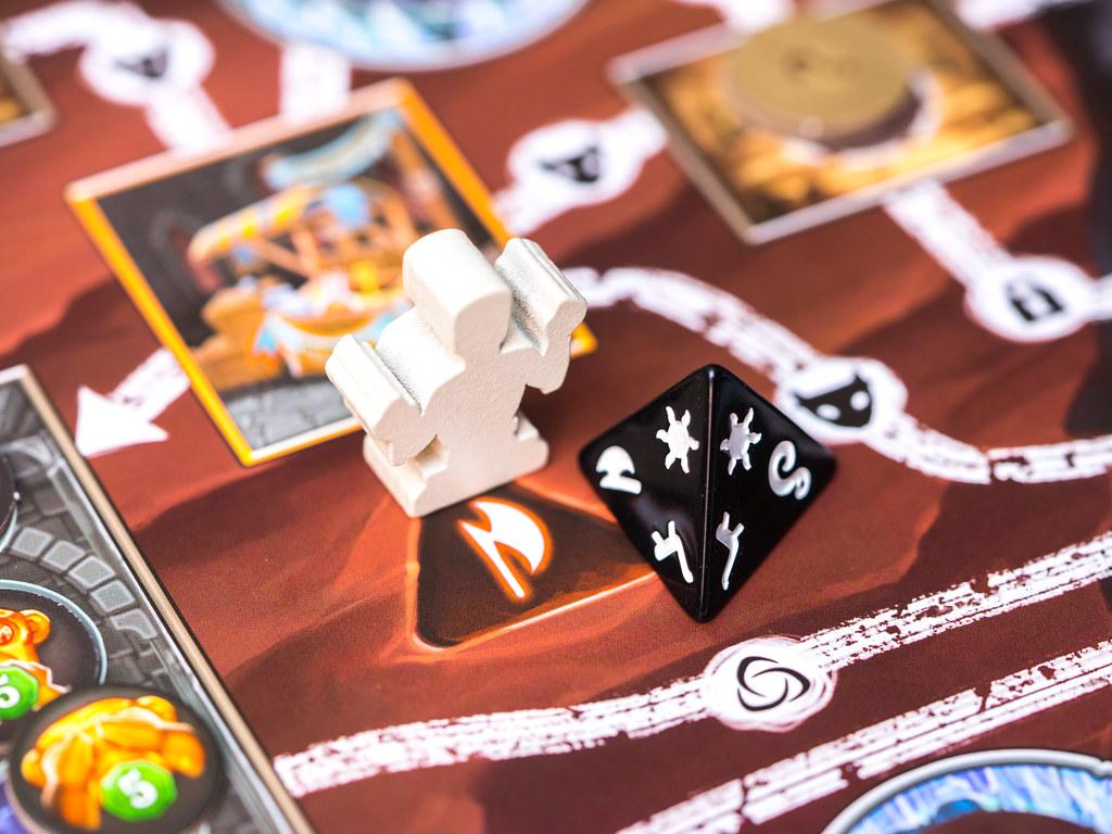 clank curse maldicion momia juego boardgame
