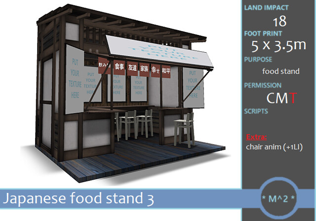 SaNaRae round 57 * M^2 * Japanese food stand 3