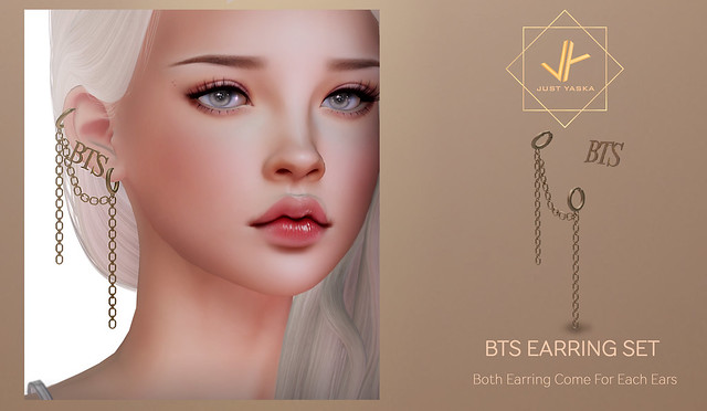BTS Earring Set x Flora Event- May 22th