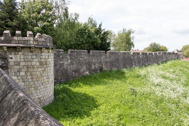 New Tower, City Walls, York, England