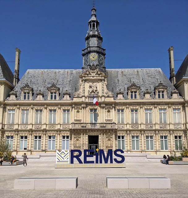 La Mairie de Reims