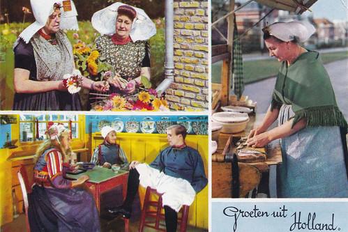 Groeten uit Holland Postcard