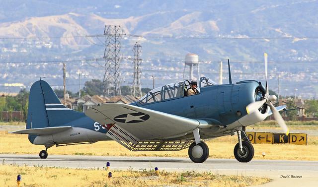 Douglas A-24A-DE Banshee ( Dauntless ) n° 2350  ~ NX5254L / S-9